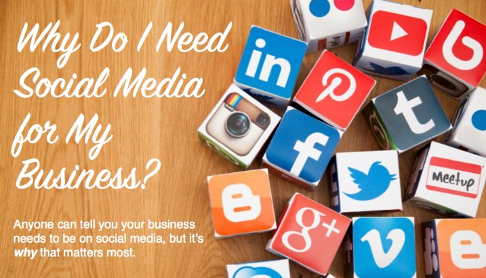 Why Do I Need Social Media for My Business?